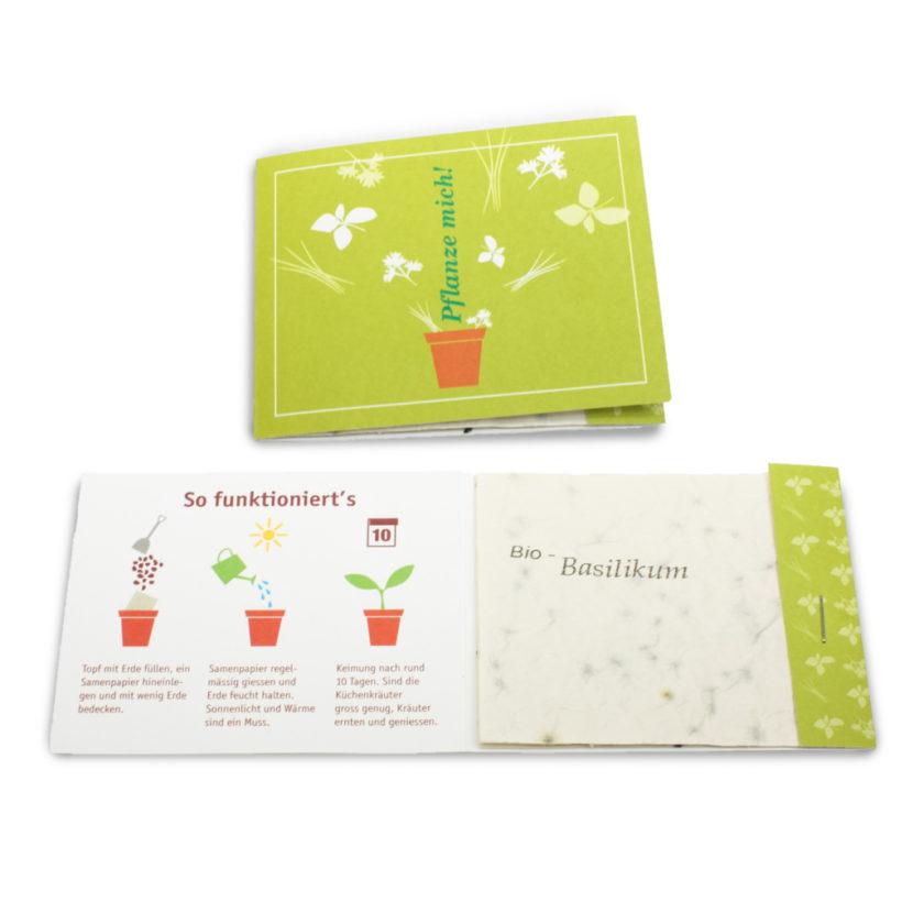 Seedspaper (carta con i semi)