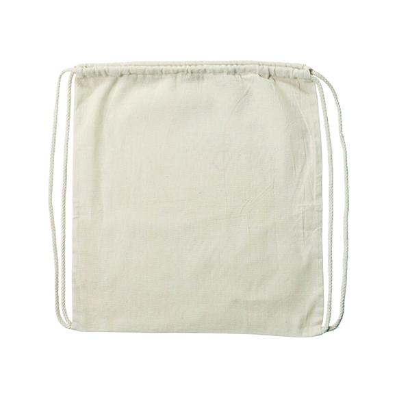 100% autentico ad52b b5299 Zaino a sacca in cotone naturale | Stocchi Gadget