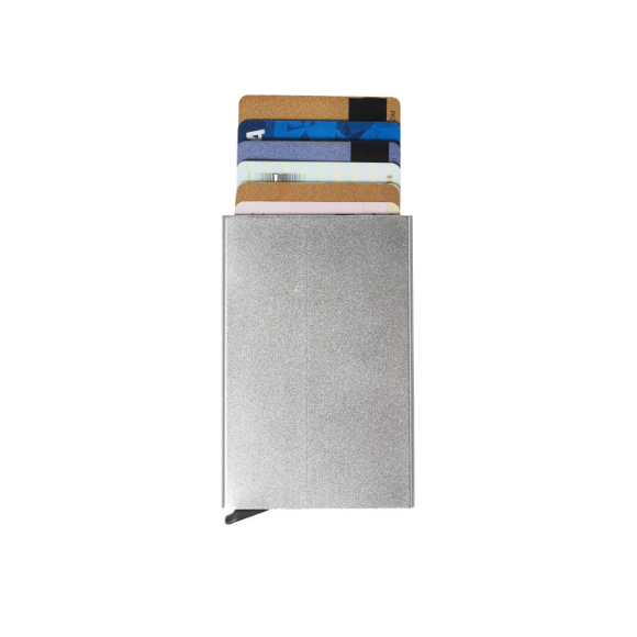 gadget Portacarte in alluminio con RFID