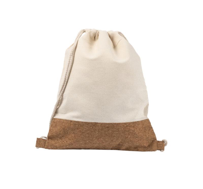 gadget Zaino a sacca in cotone e sughero