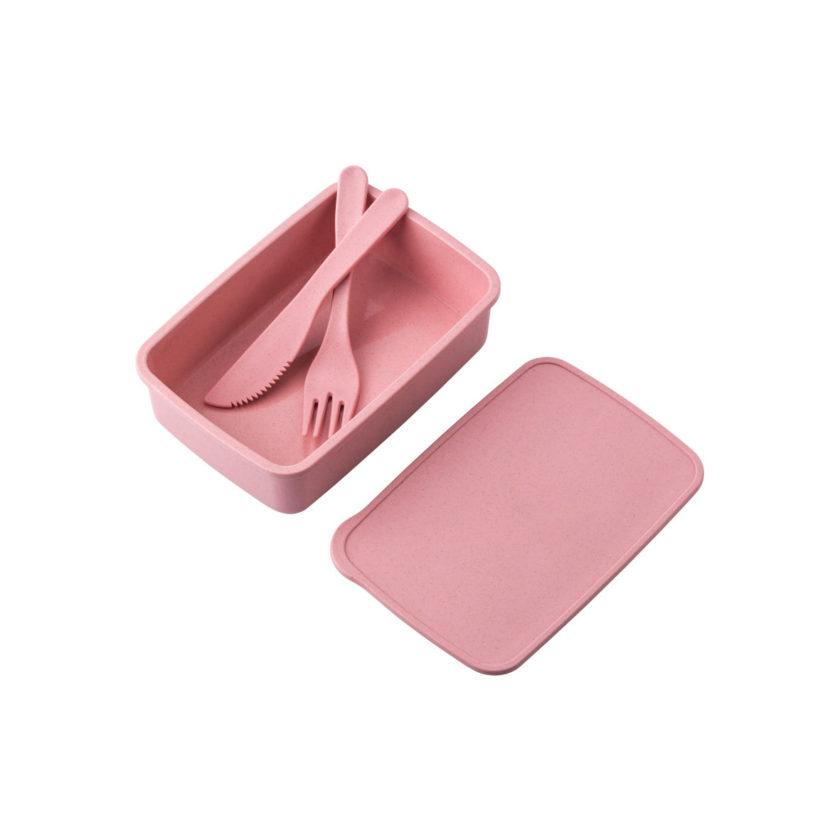 Lunch box in PP e paglia di grano