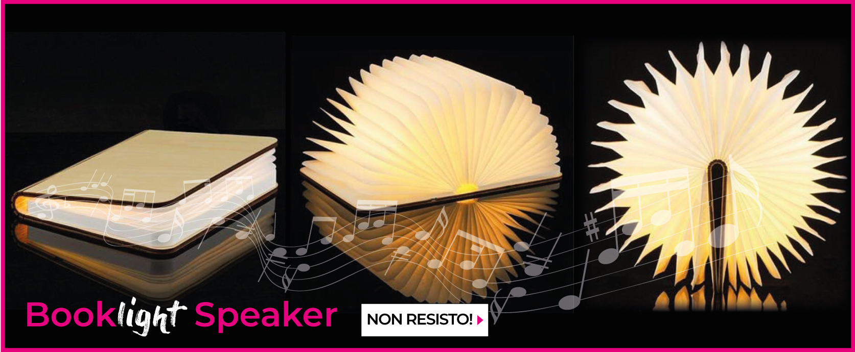 Booklight Speaker