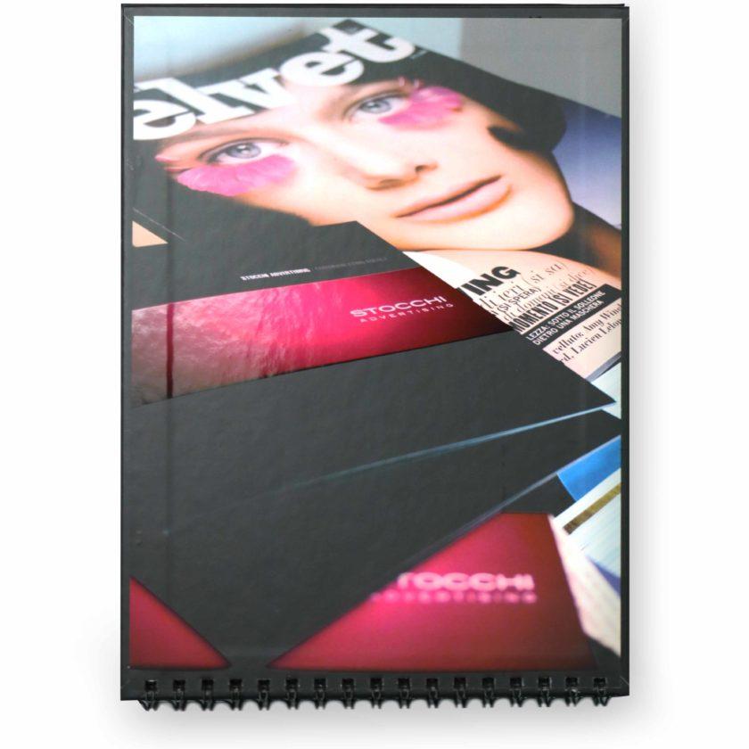 Calendario da tavolo personalizzato f.to verticale