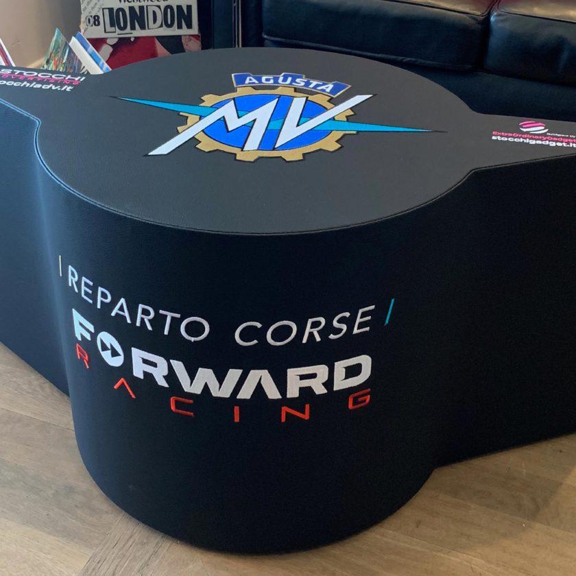 Pouf/tavolino MV Agusta Reparto Corse Forward Racing