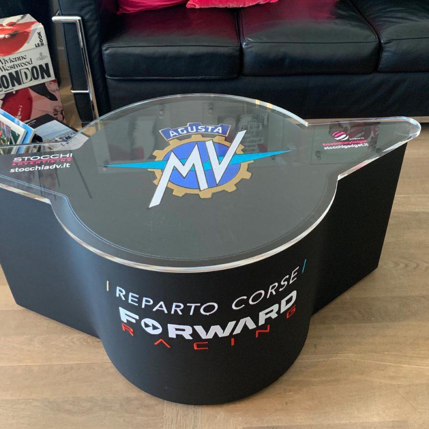 gadget Pouf/tavolino MV Agusta Reparto Corse Forward Racing