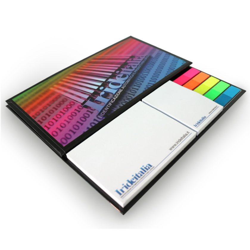 Calendario da tavolo su base rigida con 2 blocchi adesivi