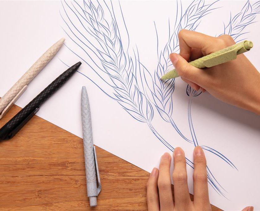 Penna in fibra di grano