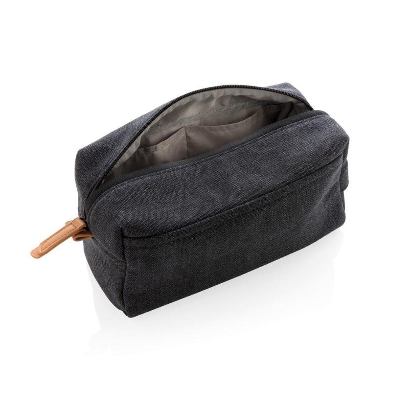 Beauty case in canapa senza PVC